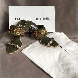 Manolo Blahnik sandal size 6.5